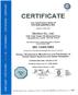Сертификат Евросоюза